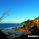 Byron Bays abwechslungsreiche Küste