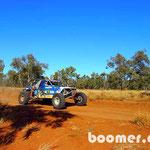 Renn-Buggy in der Wüste