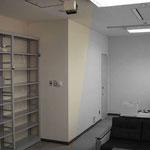 スチール製の既存オープン棚
