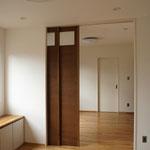 1階LDKと主寝室は続き間として使うことが出来る