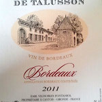 Bordeaux rouge 2011