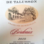 Bordeaux rouge 2010
