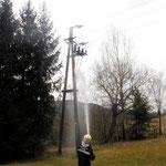 19. März 2012 Kleinbrand Strommast EVN