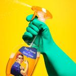 Reinigungsprodukte, Sprays und Lösungsmittel