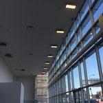 Terminal mit LED-AK-Fluter