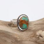 200) Ring Silber 925 mit Türkis, 430.-