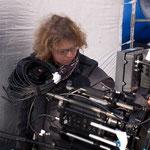 Kameraassistentin Stefanie Weberhofer - Foto Chris Plach