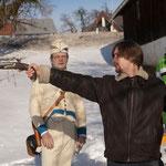 Stefan Rothbart instruiert die Darsteller - Foto Chris Plach