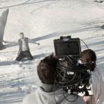 Kameramann Wolfgang v. Bankowski scharf im Schuss - Foto Chris Plach