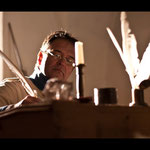 Filmszene mit Wolfgang Horak - Foto Chris Plach