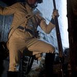 Wolfgang Horak als Soldat - Foto Chris Plach