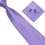 corbata lila