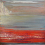 Baltic sea II - 100/100 cm - Oil on canvas.