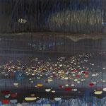 Brooke's pond II - 120/120 cm - Oil on canvas. Ref. WT214