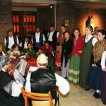 Integrantes del grupo Hidalguía Aragonesa
