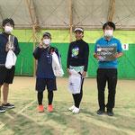 3位リーグ4位 TKG 竹田・中屋・前田・川崎