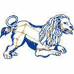 Löwe ungefüllt, 98x59 mm, 3891 Stiche, 23.7.-23.8., andere Farben möglich