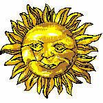 Sonne, 77x72 mm, 10687 Stiche, nicht ganz gefüllt