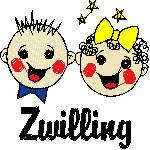 Zwilling kindlich, 99x99 mm, 5625 Stiche , 21.5-21.6.