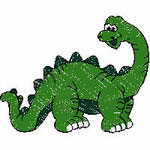 Saurier grün, 97x77 mm, 5731 Stiche