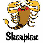 Skorpion kindlich, 97x99 mm, 5204 Stiche, 24.10.-22.11.,