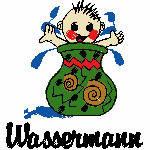 Wassermann kindlich, 91x99 mm, 7584 Stiche, 21.1.-19.2.,