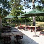 la terrasse un bon repas en été !
