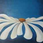 bloem blauw (40x40 cm)