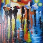 regen ( 40x50 cm) verkocht