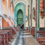 kerk Graauw acryl 60x80