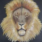 Leeuw prive bezit (90x90 cm)