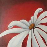 bloem rood (40x40 cm)