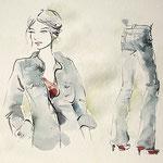 Mappenkurs Modezeichnen  © Cecily Park, Alle Rechte vorbehalten