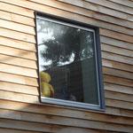 Außenansicht eines einzelnen VELFAC Fensters