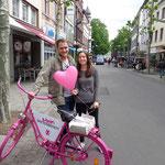 Leider können Anne und Nic uns nicht wählen, es sei denn, wir ständen in Essen und in der Schweiz auf der Liste... ;-)
