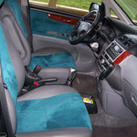 Toyota Avensis Verso Leder / Alcantara