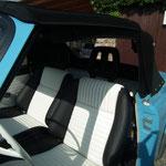 Wartburg 313 Cabrio in Kunstleder. Originaloptik