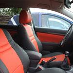 Toyota Avensis Leder zweifarbig