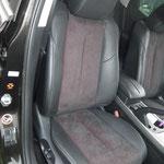 Mazda CX7 Leder / Alcantara perforiert mit Kontrastfarbe hinterlegt