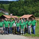 Die Wittnauer Feldschützen am Oberländischen Schützenfest im Haslital 2013