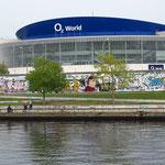 O2 World, multifunktionale Veranstaltungshalle im Berliner Ortsteil Friedrichshain