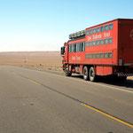 Auf der Strecke von Moquegua nach Tacna in Peru