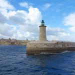 Einfahrt zum Grand Harbour
