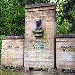Grab von Friedrich Wilhelm Murnau, Stummfilmregisseur (1888 - 1931)