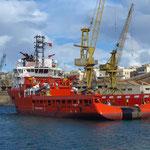 A.H.Varazze, Gerona. anchor handling vessel (Ankerziehschlepper)