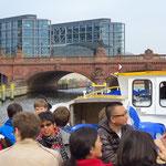 Blick auf Moltkebrücke und Berliner Hbf