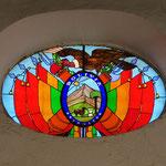 Casa de la Libertad, Glasfenster mit dem Staatswappen Boliviens