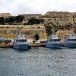 Boote der maltesischen Marine