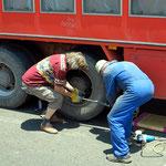 Busfahrer und Reiseleiter sei gedankt