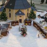 Die Seiffener Kirche als Modell